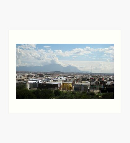 Township - Cape Town, South Africa Art Print
