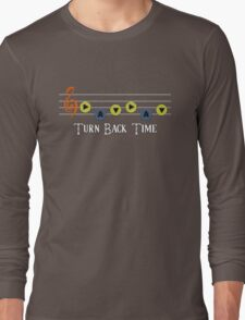Song of Time - Turn Back Time Long Sleeve T-Shirt