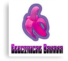 Electrical Banana Canvas Print