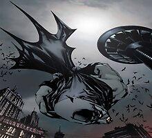 Batman comics by piloArt