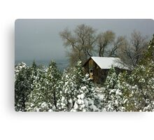 Winter in Pinos Altos Canvas Print