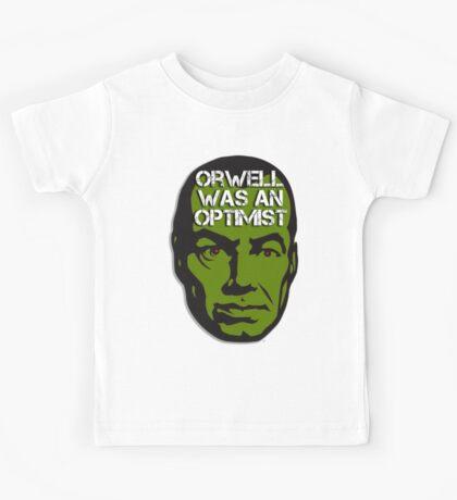 Orwell Was an Optimist Kids Tee