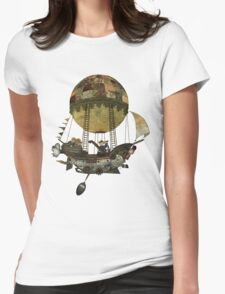 A tour in the Clouds Womens Fitted T-Shirt