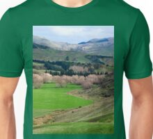 a desolate New Zealand landscape Unisex T-Shirt