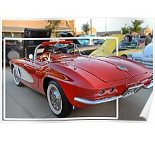 "Corvette ""Classy Chassis"" Poster"