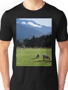 a beautiful New Zealand landscape Unisex T-Shirt