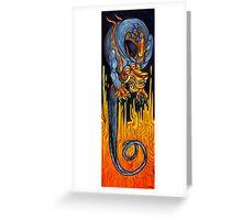 Third Eye Dragon Greeting Card
