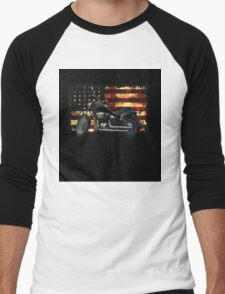 Union Flag, Stars and Stripes, Motorcycle T-Shirt