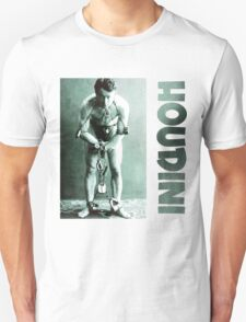 Harry Houdini in Chains Unisex T-Shirt