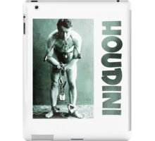 Harry Houdini in Chains iPad Case/Skin