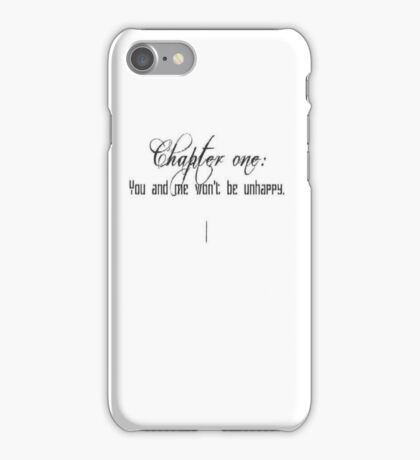 Chapter one:  iPhone Case/Skin
