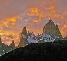 Amazing Sunrise - Fitz Roy National Park - Argentina by Craig Baron