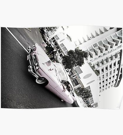 Pink Cadillac Poster