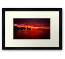 """The Blush Of Dawn"" Framed Print"