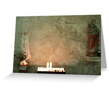 Mary & Son Greeting Card
