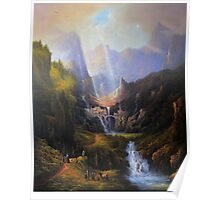 Rivendell,The Last Homely House. Poster