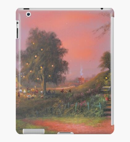 A Party Under The Tree. iPad Case/Skin