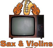 Sax and Violins on TV by Chunga