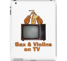Sax and Violins on TV iPad Case/Skin