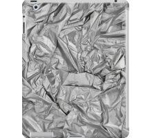 rumpled silver iPad Case/Skin