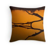 Identical - Oxbow Park Sunset Throw Pillow