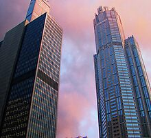 Willis & 311 South Wacker  by JCBimages