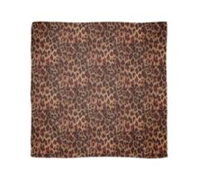 Leopard Spots Wild Cat Faux Fur Phone Case Scarf