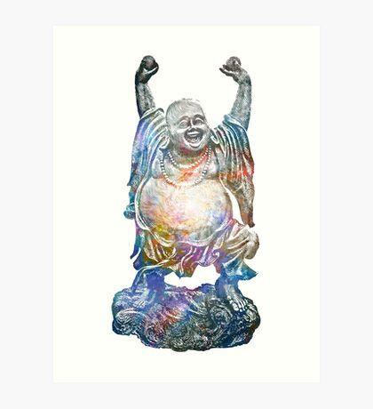 Mystic Whirlpool | Happy Buddha Remixx Art Print