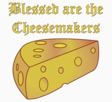 Blessed Are the Cheesemakers One Piece - Short Sleeve