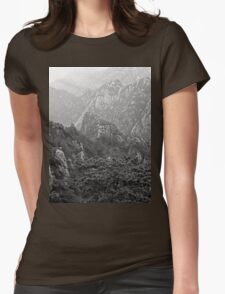 an incredible China landscape Womens Fitted T-Shirt