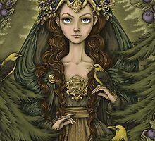 Lady of the Woods by Eeva Nikunen