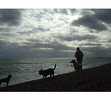 mad dog woman - hythe Photographic Print