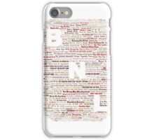 Barenaked Ladies - All the songs! iPhone Case/Skin