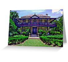 Boronia House, Mosman - NSW - Australia Greeting Card