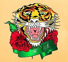 tiger  by motiashkar