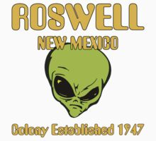 Roswell, New Mexico - Alien Colony Established 1947 Kids Clothes