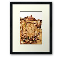 Tomb of Marie Laveau Framed Print