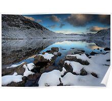 Manod Lake at Blaenau Ffestiniog Poster