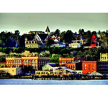 Victorian Sea Port ~ Port Townsend, WA ~ HDR Series Photographic Print