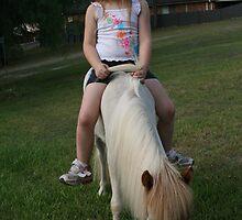Sleeping on horse back  by lulisa