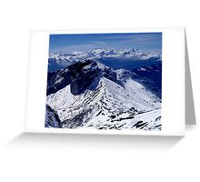 Mt Pilatus, Lucerne (Switzerland) Greeting Card