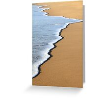 Shore Spill Greeting Card