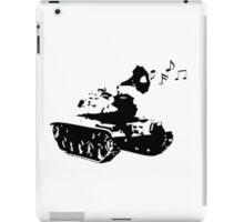 Make Music, Not War iPad Case/Skin