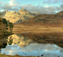 Blea Tarn in Autumn by Jamie  Green