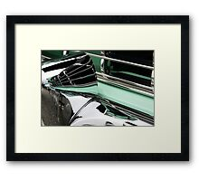 Bumper Reflections Framed Print