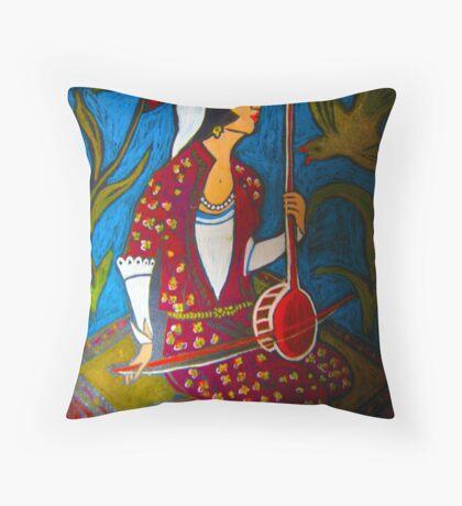 etnic Throw Pillow