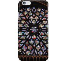 Sainte-Chapelle Rose iPhone Case/Skin