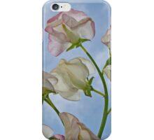 Sweetpeas & Blue Skies iPhone Case/Skin