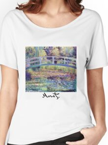 Monet - Japanese Bridge Women's Relaxed Fit T-Shirt