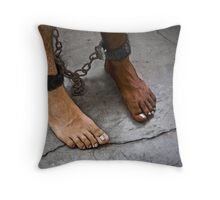 It's not discrimination Throw Pillow